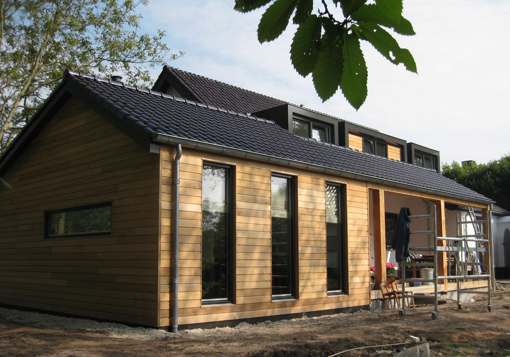 Ontwerp aanbouw en restyling jaren 39 70 woonhuis id architectuur - Ontwerp jaren ...
