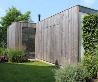 verbouwing bijgebouw hout – duurzaam bouwen
