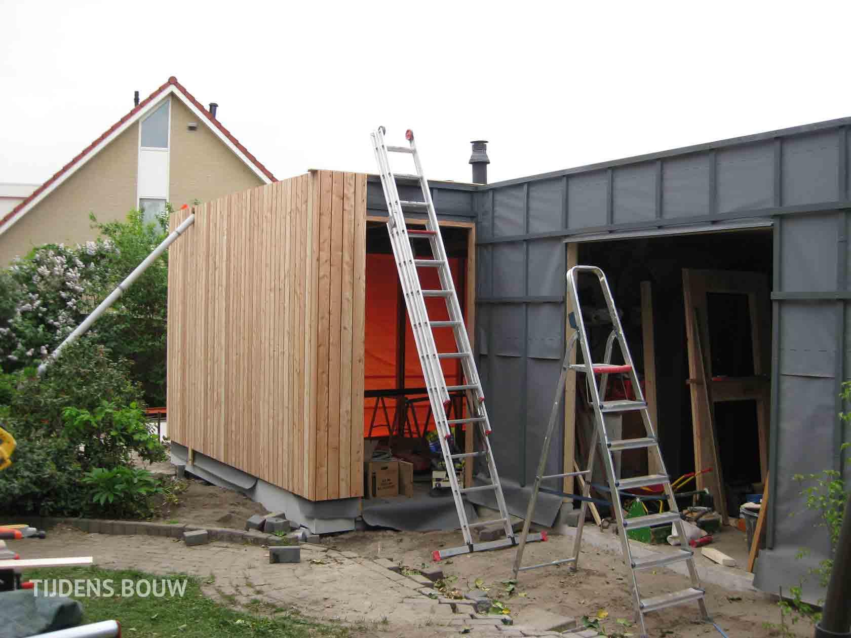 Ontwerp aanbouw en restyling jaren 39 70 woonhuis id architectuur - Ontwerp tuinhuis ...